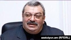 Հրազդանի ցեմենտի գործարանի նախկին սեփականատեր Միխայիլ Բաղդասարովը, արխիվ:
