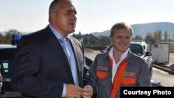 Premierul Boiko Borisov cu Grișa Gancev