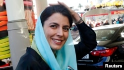 Iranian actress and Cannes jury member Leila Hatami