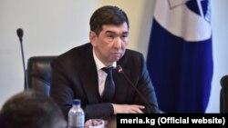 Азиз Суракматов в бытность мэром Бишкека.