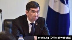 Мэр Бишкека Азиз Суракматов.
