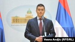 Поранешниот министер за надворешни работи на Србија, Вук Јеремиќ.