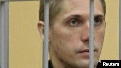 Владислав Ковалев на оглашении приговора в Верховном суде Белоруссии