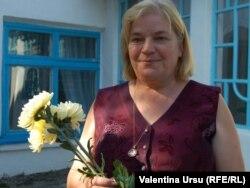 Nina Scutaru, directoarea şcolii din Căpriana