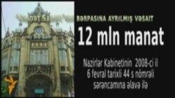 Səadət Sarayı yeni tikilir, ya təmir edilir?