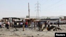 محل یک انفجار انتحاری در عراق