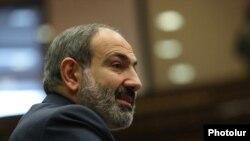 Прэм'ер-міністар Армэніі Нікол Пашыньян