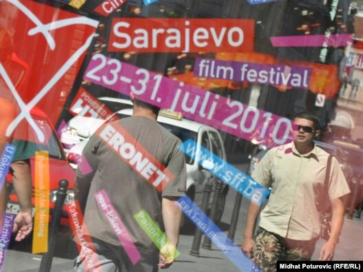 Sarajevo za vrijeme SFF-a, juli 2010