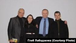 Генадзь Бураўкін, Вольга Някляева, Уладзімер Някляеў, Сяргей Шапран