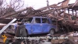 Homes Burn As Separatists Make Gains Near Luhansk