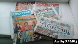 Татарстанда чыгучы татар газета-журналлары