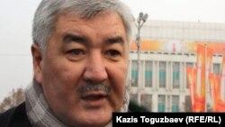 «Азат» ЖСДП бас хатшысы Әміржан Қосанов. Алматы, 9 қаңтар 2012 жыл.