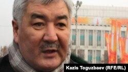 ЖСДП бас хатшысы Әміржан Қосанов. Алматы, 6 қаңтар 2012 жыл.