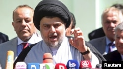 Prominent Iraqi Shi'ite cleric Muqtada al-Sadr called for renewed protests and global intervention after reform efforts stalled again.