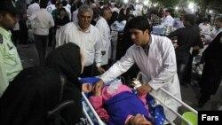 Потерпілі від землетрусу в Ірані 11 серпня 2012 року
