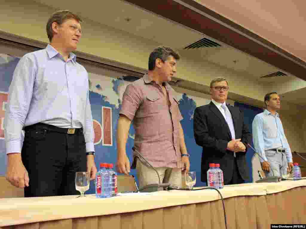 2 июля в Москве состоялась конференция партии ПАРНАС