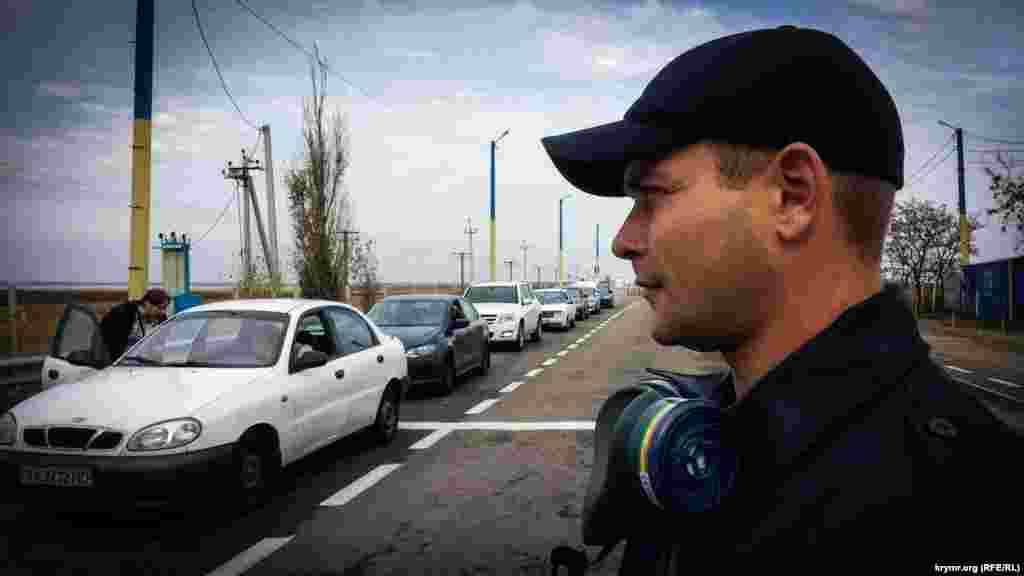 Пізніше прикордонники повідомляли, що кілька десятків українських прикордонників звернулися по медичну допомогу у зв'язку з впливом на їхнє здоров'я шкідливих викидів з території півострова