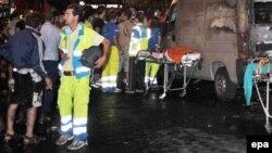 Архивска фотографија: Италијански спасувачи во акција во 2009 година.