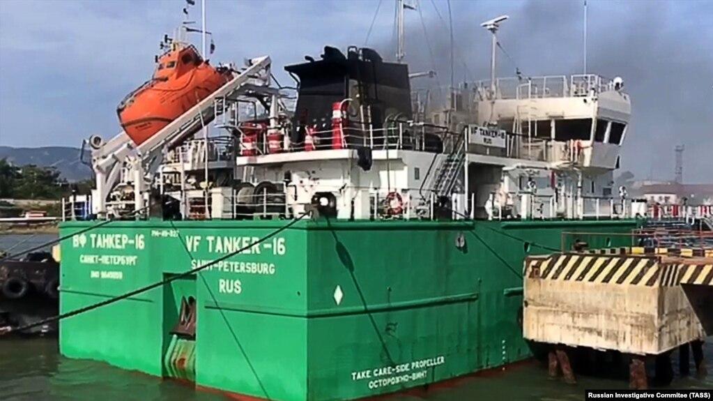 Dağıstanda neft tankeri partlayıb, 3 nəfər ölüb