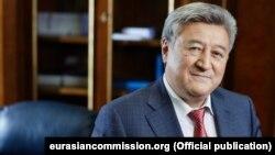 Adamkul Junusov is the former head of Kyrgyzstan's Customs Service. (file photo)