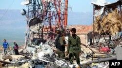 Бойцы «Отрядов народной самообороны» курдов в Сирии.