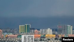 Вид на Киев.