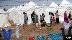 Камп за сириски бегалци во Турција