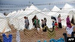 Сириялық босқындар. Түркия, 15 наурыз 2012 жыл.