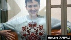 Надежда Савченко в Донецком суде (Ростовская область)