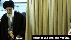 Аятолла Хаменеи, верховный лидер Ирана.