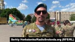 Алексей, освобождал Славянск в рядах Национальной гвардии
