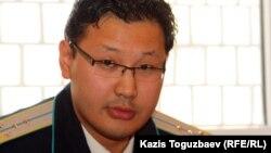 Дәурен Даиров, прокурор. Алматы, 5 желтоқсан 2012 жыл