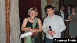 """ORIAT"" директори Алишер Холдоров."
