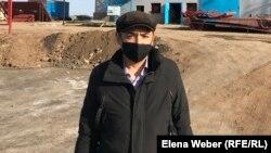 Аким поселка Шахан Галым Умербеков, назначенный на эту должность после взрыва котла три года назад. 6 ноября 2020 года.