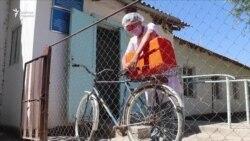 Ауыл дәрігерлері науқастарға велосипедпен баруға мәжбүр
