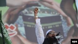 """Хафиз Саид, глава запрещенной исламистской благотворительной организации """"Джамат уд-Дава"""""""