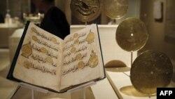 نيويورك: معرض لمخطوطات واثار تاريخية