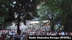 Makedoniyada etirazlar