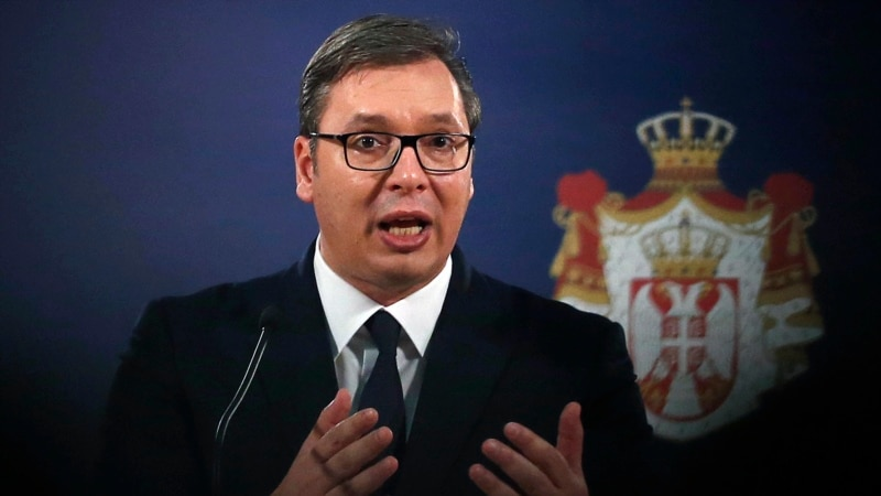 Serbian Leader Meets With Russian, Chinese Envoys Ahead Of Kosovo Army Vote