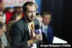 Роман Цимбалюк, кореспондент агентства УНІАН в Москві
