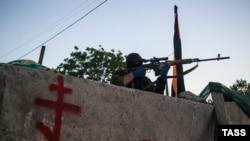 Separatçıların snayperi . Slavyansk, 22 may