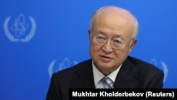 Yukiya Amano, the director-general of the United Nations' International Atomic Energy Agency