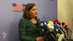 U.S. Assistant Secretary of State for European and Eurasian Affairs Victoria Nuland in Baku