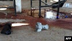 Сириядагы түрмөгө кол салуудан кийин. 23-август, 2015-жыл.