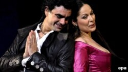 Rolando Villazón și Nino Machaidze în opera Romeo și Julieta la Festivalul de la Salzburg