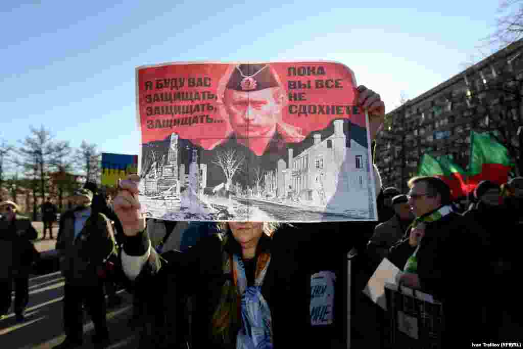 Антивоенные пикеты в Москве