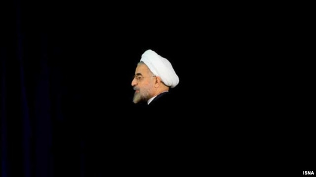 Alone again: President-elect Hassan Rohani