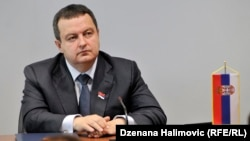 As Kosovo and Serbia do not have diplomatic relations, Ivica Dacic had to request approval for the visit through the EU diplomatic missions in both capitals.