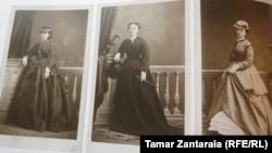 ბერტა ფონ ზუტნერის ფოტოები დადიანების სასახლეში