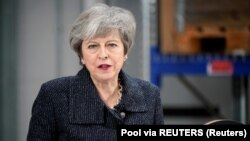 Premierul britanic, Theresa May